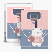 Apple iPad 9.7 5th 6th Generation Cover를위한 Air Sac Cartoon Kids Custom Printed Case